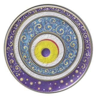 Evil Eye Plates