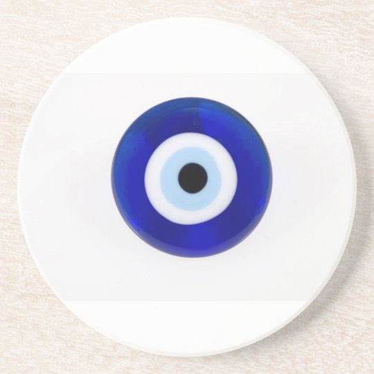 Evil Eye Protection Beverage Coaster