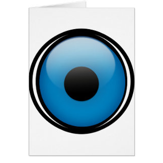Evil Eye Protection Greek Ojo Card