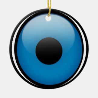 Evil Eye Protection Greek Ojo Christmas Ornament