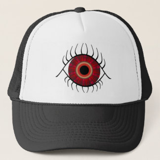 Evil Eye Red Trucker Hat