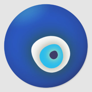 Evil Eye Round Stickers