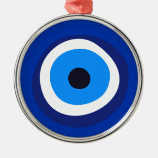 evil eye symbol greek turkish arab talisman christmas ornament