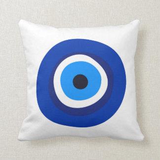 evil eye symbol greek turkish arab talisman cushion