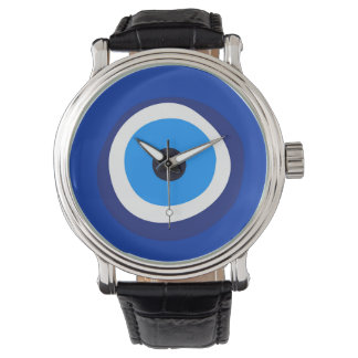 evil eye symbol greek turkish arab talisman watch