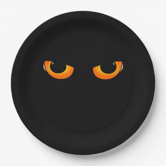 Evil eyes 9 inch paper plate