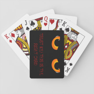 Evil eyes advice playing cards