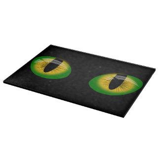 Evil eyes cutting board