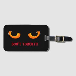 Evil eyes luggage tag
