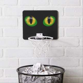 Evil eyes mini basketball hoop