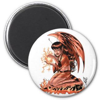 Evil Fairy doing Magic by Al Rio Magnets