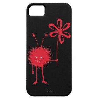 Evil Flower Bug Black Case For The iPhone 5