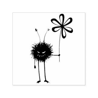 Evil Flower Bug Self-inking Stamp