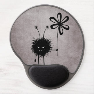 Evil Flower Bug Vintage Ergonomic Gel Mouse Pad