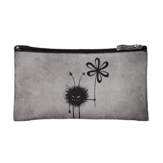 Evil Flower Bug Vintage Makeup Bag