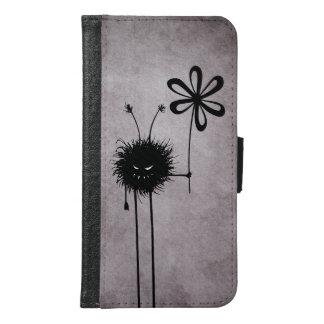 Evil Flower Bug Vintage Samsung Galaxy S6 Wallet Case