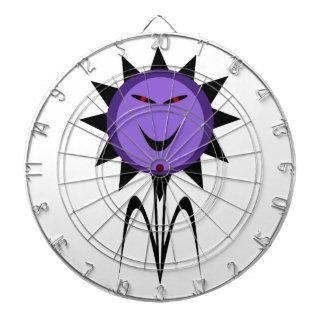 Evil Flower Kawaii Goth Halloween Dart Board