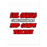 Evil Genius...3rd Grade Teacher