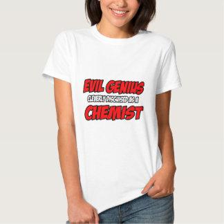 Evil Genius...Chemist Tees