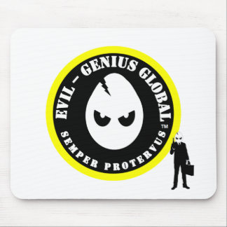 Evil-Genius Global Agent Pad Mouse Pad