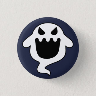 Evil Ghost 3 Cm Round Badge