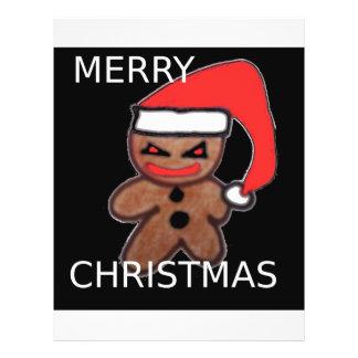 Evil Gingerbread boy Full Color Flyer