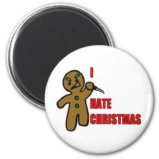 Evil Gingerbread Man Magnets