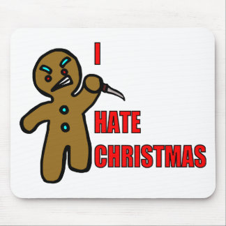 Evil Gingerbread Man Mouse Mat
