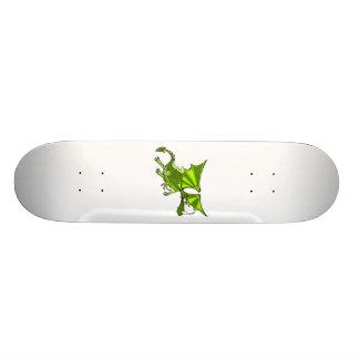 Evil green Dragon Skate Deck
