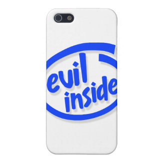 Evil inside iPhone 5 cases