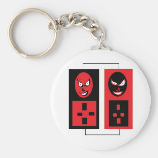 evil ipods key chain