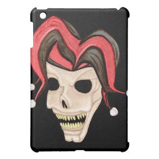 Evil Jester Skull (Red) iPad Mini Case