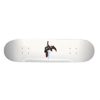 Evil little witch skate board deck