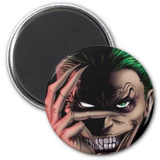 Evil Monster Face Magnet