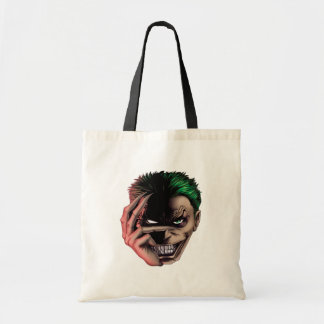 Evil Monster Face Tote Bag