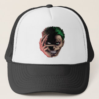 Evil Monster Face Trucker Hat