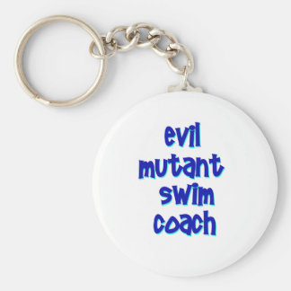 Evil Mutant Swim Coach Key Ring