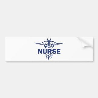 evil nurse bumper sticker