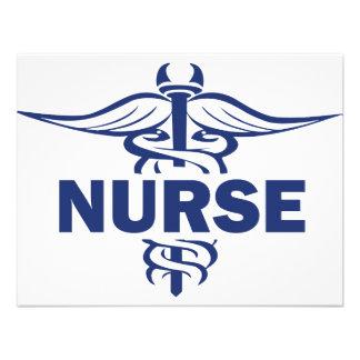 evil nurse personalized invite