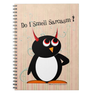 Evil Penguin™ Funny Binder, Back to School Notebooks