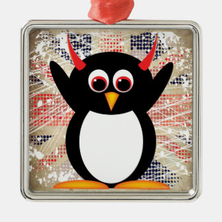Evil Penguin™ ornament