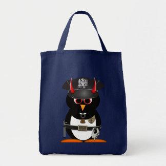 Evil Penguin Police Bag