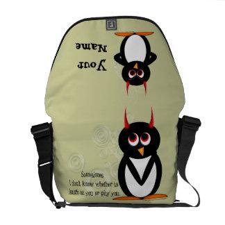 Evil Penguin Rickshaw Messenger Bag