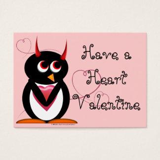 Evil Penguin School Valentines