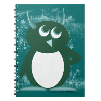 Evil Penguin™ Spiral Notebook