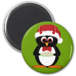 Evil Penguin Stocking Stuffer Magnets