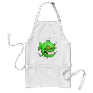 evil pierced monsterfish standard apron
