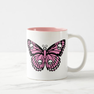 Evil Pink Butterfly Coffee Mug