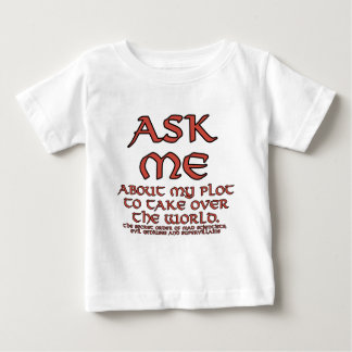 Evil Plot Joke Infant T-Shirts and Tops