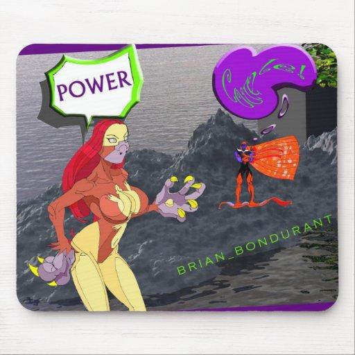 Evil POWER COUPLE 2 mouse pad